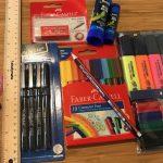 オーストラリアの新小学1年生が新学期に用意すべき文房具リスト